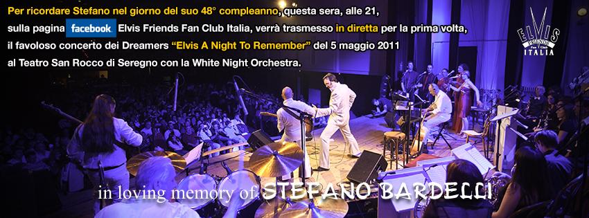 Questa Sera Alle 21 Buon Compleanno Stefano Elvis Friends Fan