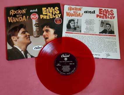 Rockin With Wanda Amp Elvis Vinile 10 Elvis Friends
